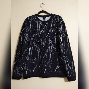 H&M Marble-Knit  Oversized Sweater